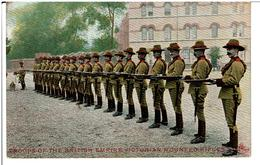 VICTORIA *  TROOPS OF THE BRITISH EMPIRE VICTORIAN MOUNTED RIFLES  ( Carte Colorisée ) - Australie