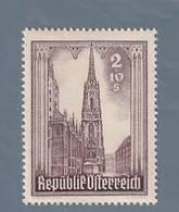 AUSTRIA  AUTRICHE ÖSTERREICH MNH** 1946   S. STEFANO 2+10 SCH - 1945-.... 2ème République