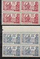 French Guiana 1939,New York's Fair,Scott # 169-170 Blocks VF MNH** (RN-II) - Neufs