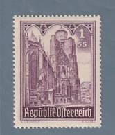 AUSTRIA  AUTRICHE ÖSTERREICH MNH** 1946   S. STEFANO 1+5 SCH - 1945-.... 2ème République