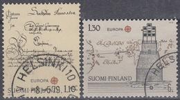 FINLANDIA 1979 Nº 806/07 USADO - Gebraucht