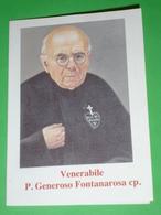Ven.P.GENEROSO FONTANAROSA Cp.VETRALLA,Viterbo.Passionisti.BORGETTO,MASCALUCIA,Sicilia.ZAFFERANA Etnea.Ven.LUCIA MANGANO - Santini