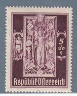 AUSTRIA  AUTRICHE ÖSTERREICH MNH** 1946   S. STEFANO 5+20  GR - 1945-.... 2ème République