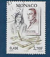 """Monaco YT 2300 """" Prix Littéraire """" 2001 Oblitéré - Monaco"""