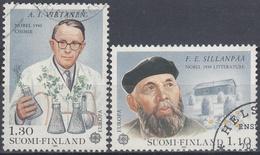 FINLANDIA 1980 Nº 831/32 USADO - Gebraucht