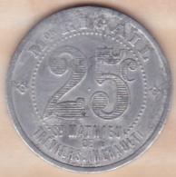 34. Hérault . Saint Mathieu De Treviers Maison Rigail 25 Centimes - Monétaires / De Nécessité