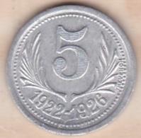 34. Hérault .Chambres De Commerce De L'Hérault .5 Centimes 1922 - 1926 - Monétaires / De Nécessité