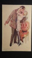 Italy - Künstlerkarte - Der Kuss -  Proprieta Artistica Riservata - Dell Anna & Gasparini Milano - Um 1920 - Look Scans - Illustrators & Photographers