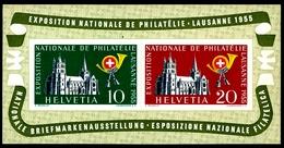 Nationale Briefmarkenausstellung In Lausanne - Block 15, Nr.W35, Postfrisch, Schweiz - Blocchi & Foglietti