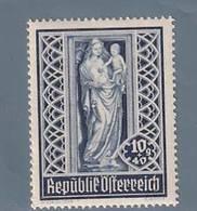 AUSTRIA  AUTRICHE ÖSTERREICH MNH** 1946   S. STEFANO 10+40 GR - 1945-.... 2ème République