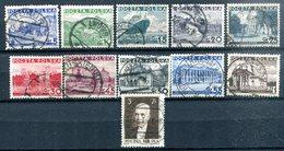 POLOGNE - Y&T 379 à 389 (série Complète) (20% De La Cote) - Used Stamps