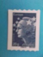 AUTOADHESIF : No: 600 ,Bleu Erope De Roulette Avec No, Marianne De Beaujard,XX , Timbre En Bon état - France