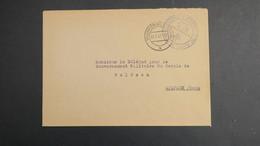 Lettre De Villingen (service Personnes Déplacées) 1947 Allemagne Occupation Française Pour Wolfach En Franchise - Zone Française