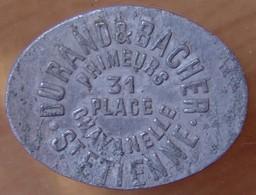 Saint-Etienne (42) 5 Francs Primeur Durand Et Bacher - Monétaires / De Nécessité