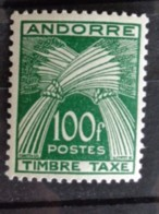 1946-50 ANDORRE Y&T N° 41 **, LEGENDE TIMBRE TAXE - Timbres-taxe