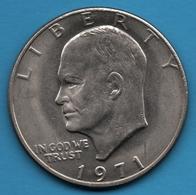 """USA 1 Dollar 1971 """"Eisenhower Dollar""""  KM# 203 - Federal Issues"""