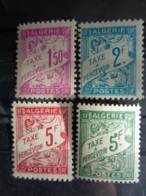 1945-46 ALGERIE TAXE Y&T N° 29 à 32 ** - TYPE DE 1926 - Impuestos
