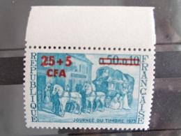 1973 REUNION Y&T N° 414 ** - JOURNEE DU TIMBRE, RELAIS DE POSTE - Reunion Island (1852-1975)