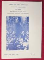 Régionalisme - Comité Du Vieux Marseille #11 De 1984 - L'ESTAQUE - Mémoires Et Souvenirs D'un Villageois - T. Festinesi - Provence - Alpes-du-Sud
