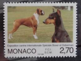 MONACO 1998 Y&T N° 2148 ** - EXPOSITION CANINE INTERN. SPECIALE BOXER ET DOBERMAN - Monaco