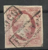 14-SELLO CLAVE HOLANDA 1852 Nº2 .VALOR YVERT 42,00€,MATASELLOS FRANCO ,SIN DEFECTOS,CLASICO - 1852-1890 (Guillaume III)