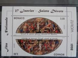 MONACO 1998 Y&T N° 2152 TETE BECHE ** - FESTIVALS NATIONAUX  EUROPA I - Mónaco