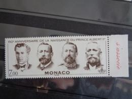 MONACO 1998 Y&T N° 2154 ** - 150e ANN. DEL NAISSANCE DUPRINCE AER I - Monaco