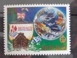 MONACO 1998 Y&T N° 2159 ** - EXPO 98, EXPOSITION UNIVERSELLE A LISBONNE - Monaco