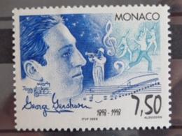 MONACO 1998 Y&T N° 2169 ** - CENTENAIRE DE LA NAISSANCE DE GEORGE GERSHWIN - Neufs
