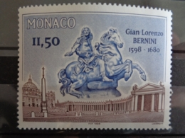 MONACO 1998 Y&T N° 2175 ** - 400e ANNIV. NAISSANCE DU SULPTEUR & ARCHIT. ITALIEN GIAN LORENZO BERNINI - Monaco