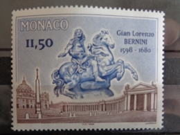 MONACO 1998 Y&T N° 2175 ** - 400e ANNIV. NAISSANCE DU SULPTEUR & ARCHIT. ITALIEN GIAN LORENZO BERNINI - Neufs