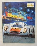 Ancien Catalogue HELLER Modélisme Maquettes Couverture Porsche 907 - Avions Voitures Bateaux Marine Guerre &c - Catalogues