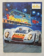 Ancien Catalogue HELLER Modélisme Maquettes Couverture Porsche 907 - Avions Voitures Bateaux Marine Guerre &c - France
