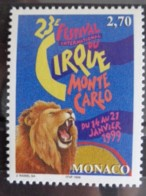 MONACO 1998 Y&T N° 2180 ** - 23e FESTIVAL DU CIRQUE DE MONTE CARLO - Neufs