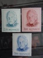 MONACO 1998 Y&T N° 2182 à 2183 ** - EFFIGIE DE S.A.S LE PRINCE RAINIER III - Monaco