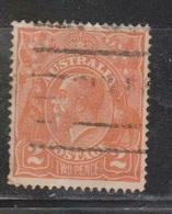 AUSTRALIA Scott # 27 Used - KGV Head - 1913-36 George V : Têtes