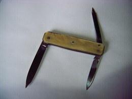 BARGEON ANCIEN COUTEAU DE POCHE CANIF BARGEON 3 Lames Bon état Port 2.2 € - Knives/Swords