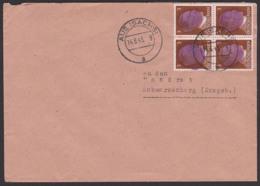 Sächsische Schwärzung AUE (Sachs), 14.6.45, Fernbrief Mit 2 Pf(4) Portogenau, Germany SBZ AP 782 I, An Landrat Behörde - Sowjetische Zone (SBZ)