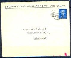 K132- Postal Used Cover. Post From Nederland. Netherlands. - Postal History