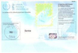 SERBIA / SERBIE / SRBIJA International Reply Coupon Reponse IAS Antwortsche 2017 Istanbul - Serbie