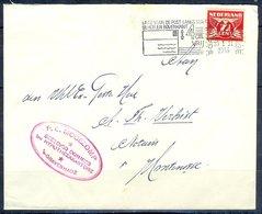 K135- Postal Used Cover. Post From Nederland. Netherlands. - Postal History