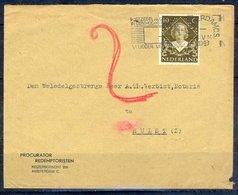 K136- Postal Used Cover. Post From Nederland. Netherlands. - Postal History