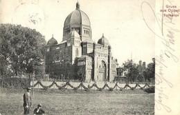 T2/T3 1910 Opole, Oppeln; Synagoge / Synagogue  (EK) - Unclassified