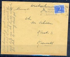 K137- Postal Used Cover. Post From Nederland. Netherlands. - Postal History