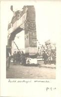 * T1/T2 Monastir, Jewish Decorated Gate, Flag. Judaica, Photo - Unclassified