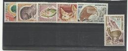 C.T. Somalis YT N°305/ 310 *** Neufs Luxe, Cote 50€ - Unused Stamps