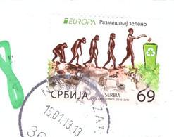 SERBIA / SERBIE / SRBIJA  2016 Europa CEPT - Think Green Novi Pazar - Serbie