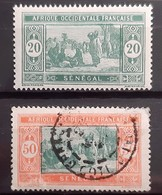 SENEGAL (Colonie Française) - N°75-82 - Oblitéré (o) Et Neuf SANS Charnière ** / MNH - Usati