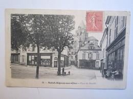 41 Loir Et Cher Saint Aignan Sur Cher Place Du Marché - Saint Aignan