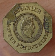 Jeton Publicitaire  BUIGNIER GRAVEUR FONDEUR EN BIJOUX 1839 - Professionnels / De Société